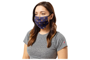 League Lipscomb Face Mask, Purple