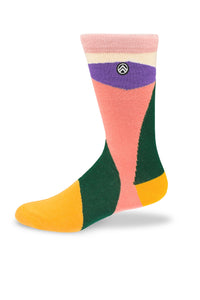 Sky Footwear Socks, Abstract Colors