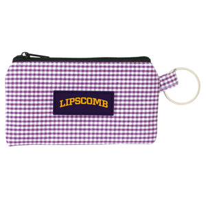 Spirit Newport Gingham ID Case, Purple