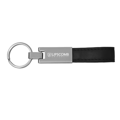 LXG Leather Strap Keychain, Black