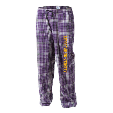 Boxercraft Flannel Pant, Purple/Grey