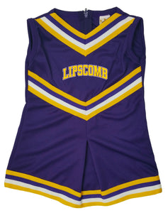 Little King Kid's Cheer Dress, Purple/Gold
