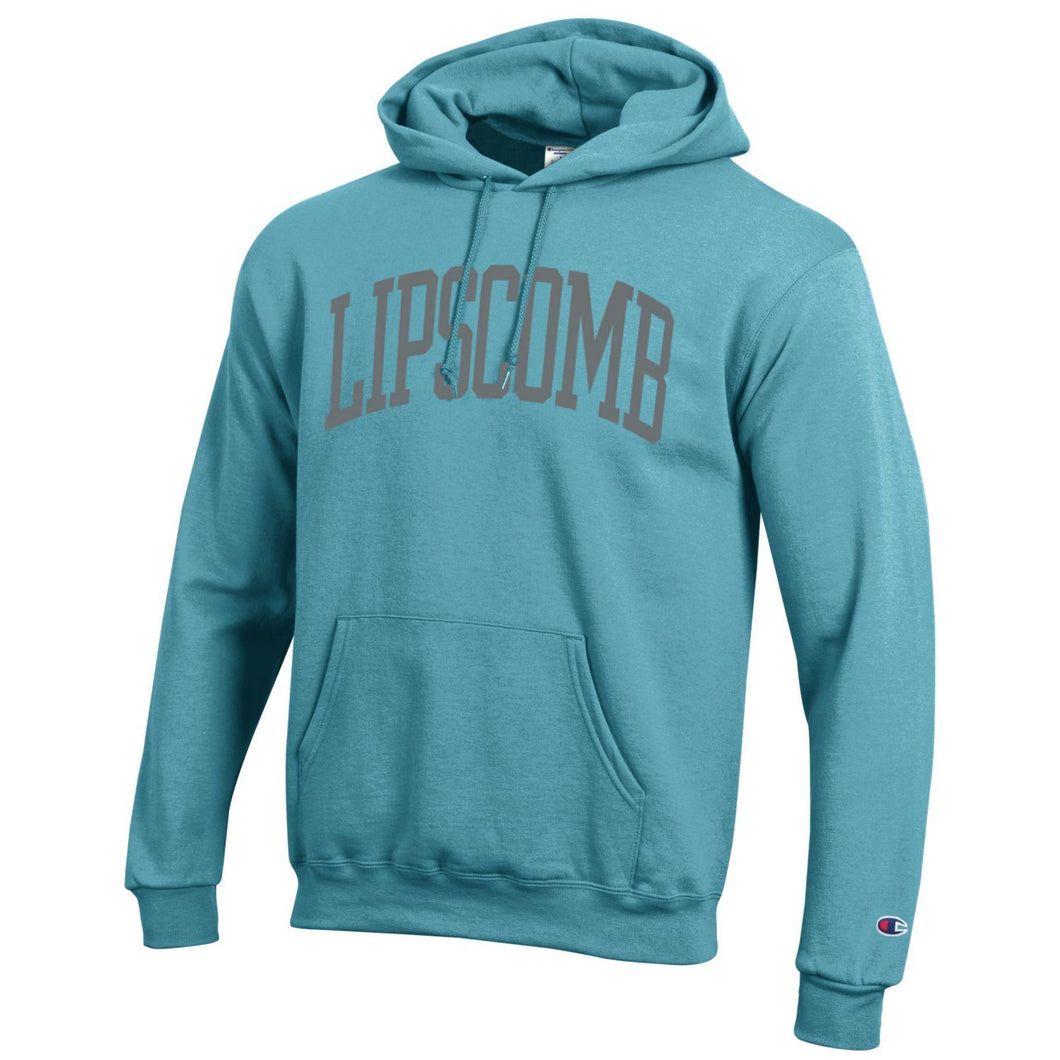 Champion Men's Eco Powerblend Hoodie, Amazing Aqua