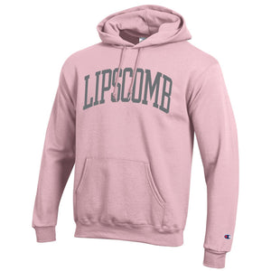 Champion Men's Eco Powerblend Hoodie, Feather Pink