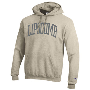 Champion Men's Eco Powerblend Hoodie, Oatmeal Heather