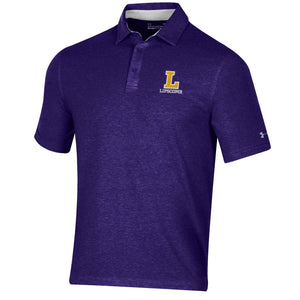 Under Armour Men's Charged Cotton Polo, Purple