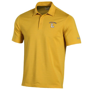 Under Armour Playoff Stripe Polo, Gold