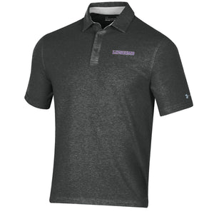 Under Armour Men's Charged Cotton Polo, Black