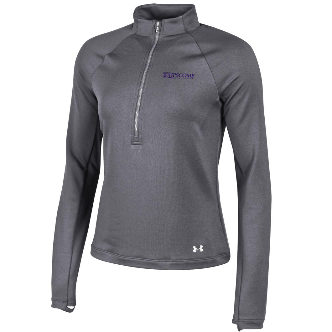 Under Armour Women's New 1/4 Zip, Carbon Heather