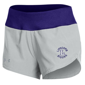 Under Armour Women's Hybrid Short, Purple