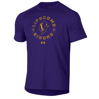 Under Armour Men's Tech Short Sleeve Tee, Purple