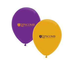 Spirit Products Ultra Print Balloons 10-Pack - Purple & Gold