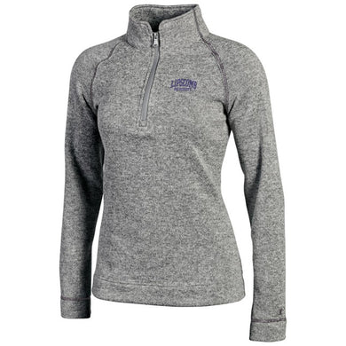 Champion Women's Artic 1/4 Zip, Mineral Grey