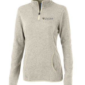 Charles River Women's Fleece Pullover, Oatmeal