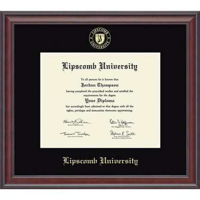 Church Hill Classics Gold Embossed Diploma Frame