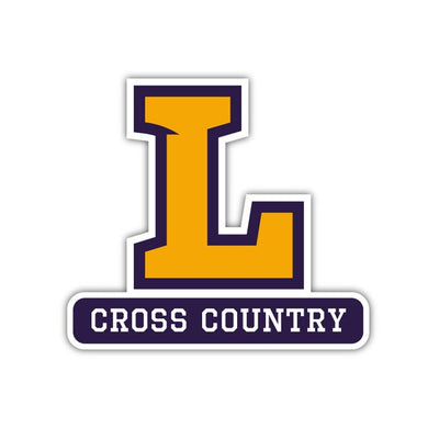Lipscomb Cross Country Decal - M16