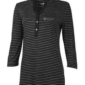 Charles River Women's Windsor Henley, Black