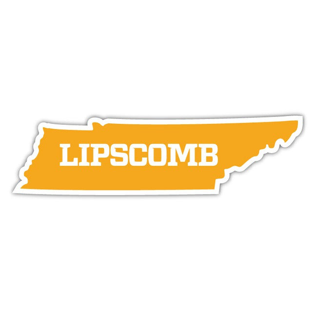 Lipscomb State Decal - J Home Series