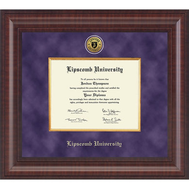 Church Hill Presidential Diploma Frame