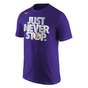 Nike Men's Selection Sunday Short Sleeve Tee, Purple