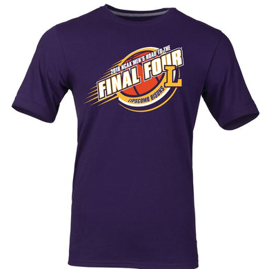 Russell Men's Road to the Final Four Short Sleeve Tee, Purple