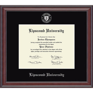 Church Hill Classics Silver Embossed Diploma Frame