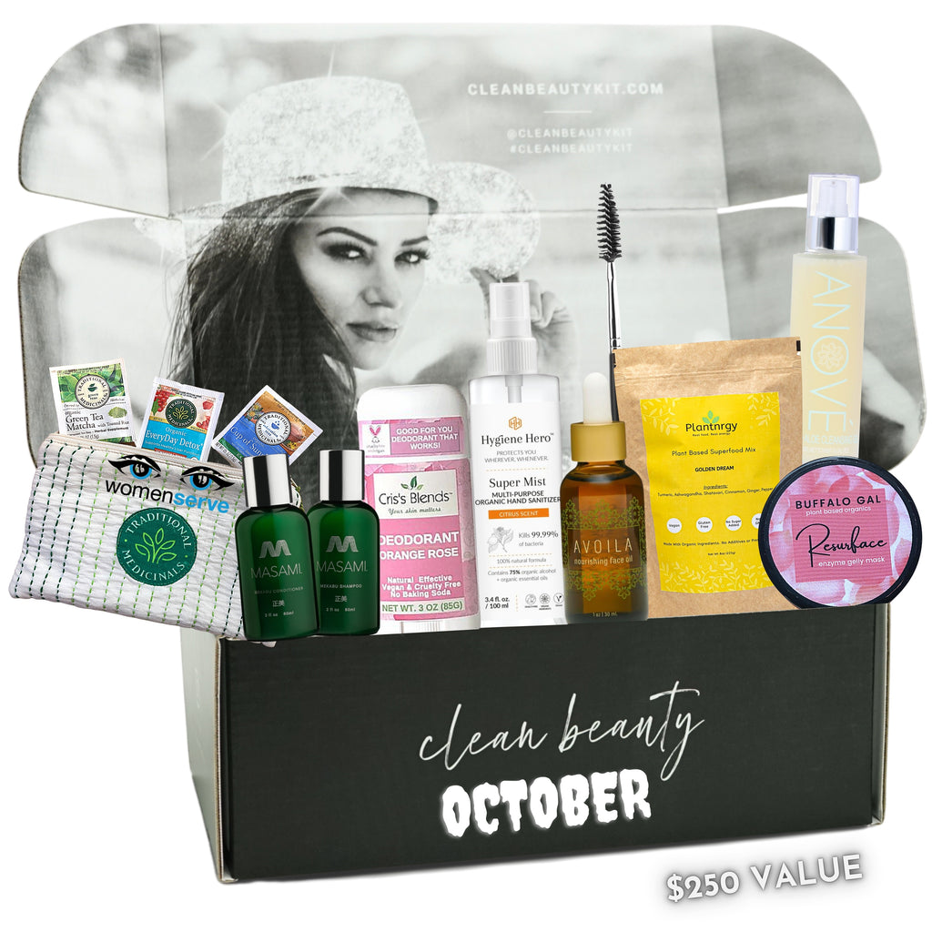 October Clean Beauty Kit