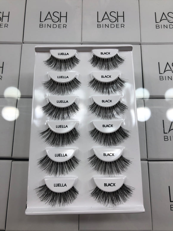 6 Pack of Luella Lashes