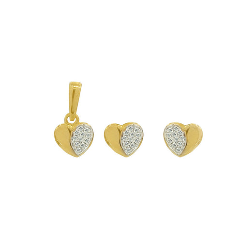 Kids Cutie-Cutie Diamond Heart Pendant