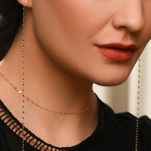 Load image into Gallery viewer, Classic Infinity Gold Choker with Adjustable Chain