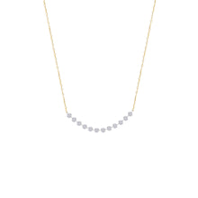 Load image into Gallery viewer, Classic Twelve Naked Diamonds Necklace