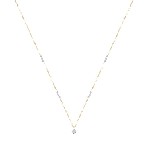 Classic Thirteen Naked Diamonds Necklace