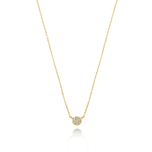 Classic Petite Diamond Necklace