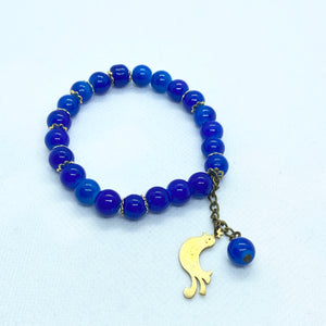 Bird Bracelet with Beads ll
