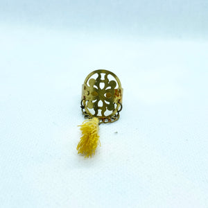 Eslimi Ring with Tassel