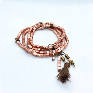 Bead Bracelet and Tassel