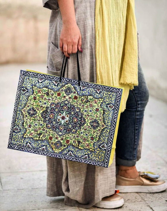 Persian Tile Gift Bag