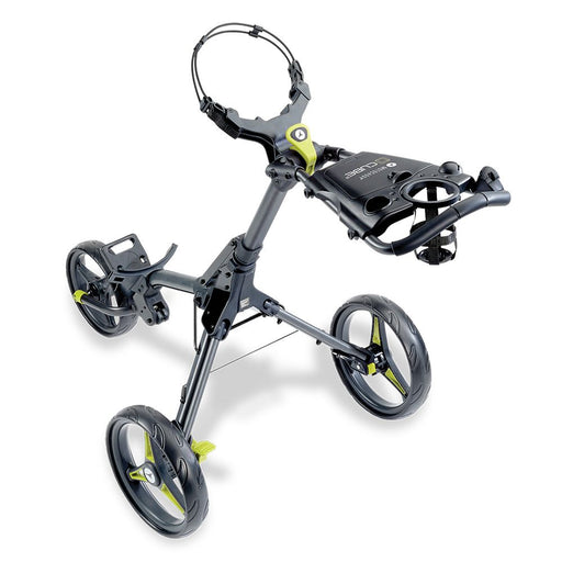 Motocaddy Cube 3 Wheel Trolley 2020 - Graphite/Lime
