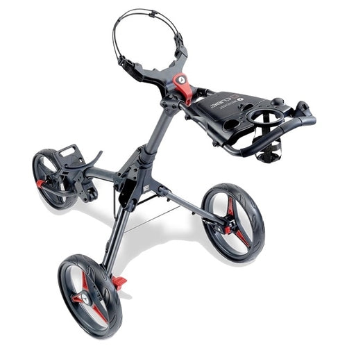 Motocaddy Cube 3 Wheel Trolley 2021 - Graphite/Red