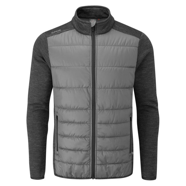 Ping Dover Thermal Golf Wind Jacket - Steel Grey