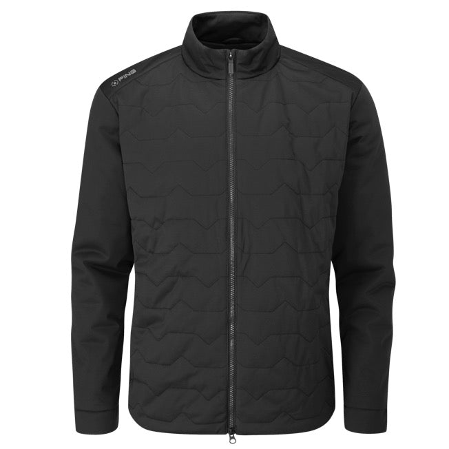 Ping Norse Primaloft S2 Thermal Golf Wind Jacket - Black