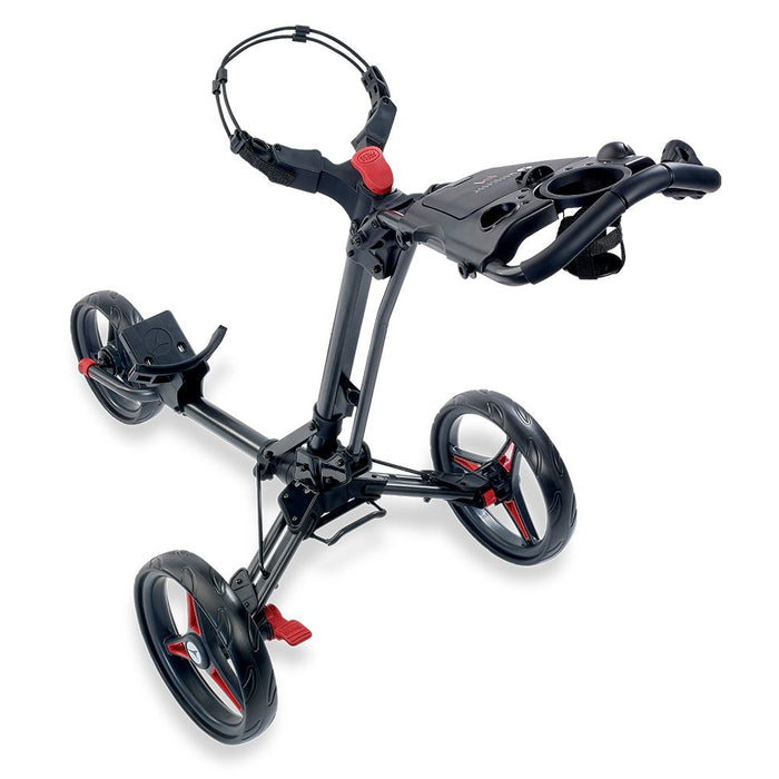 Motocaddy P1 3 Wheel Trolley 2020 - Graphite/Red