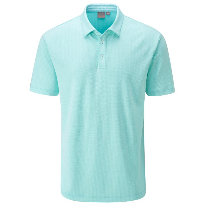 Ping Preston Men's Polo - Blue Water