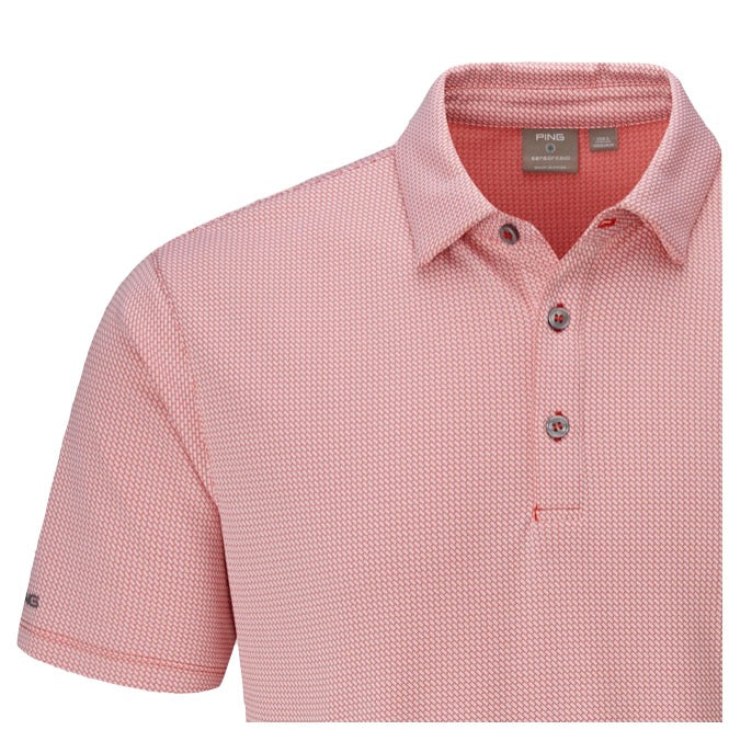 Ping Preston Men's Polo - Cyber Red