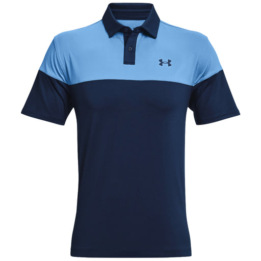 Under Armour Mens T2G Blocked Polo Shirt - Academy/Nova Blue