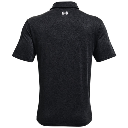 Under Armour Playoff 2.0 Press Stripe Polo Shirt - Black/Venom Red