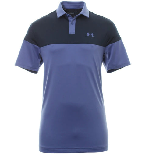 Under Armour Mens T2G Blocked Polo Shirt - Starlight/Academy