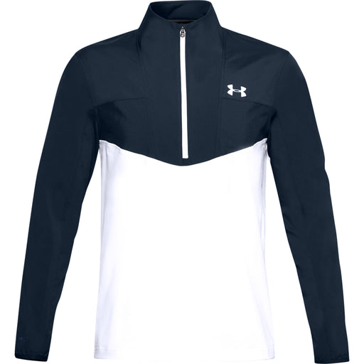 Under Armour Storm Windstrike 1/2 Zip Top - White/Navy