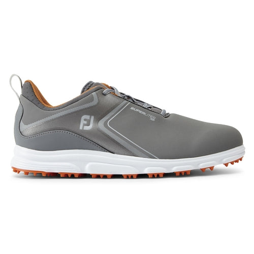 Footjoy Superlites XP 58073 Golf Shoes - Grey/Orange