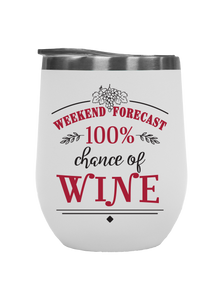 Weekend Forecast - Outdoor Wine Tumblers